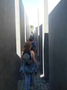 Memorial del Holocausto, monumento que la ciudad de Berlín levantó en memoria de los judíos asesinados por los nazis